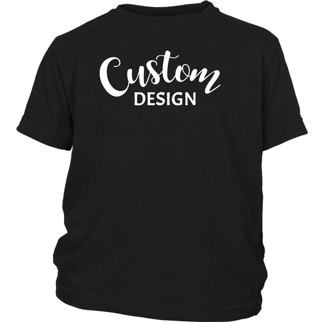 Custom Youth Shirt - Black