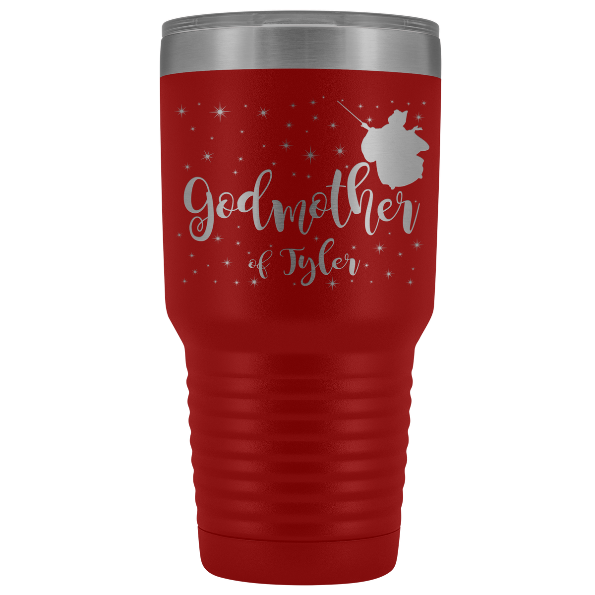 Custom Godmother 30oz Tumbler - Tyler