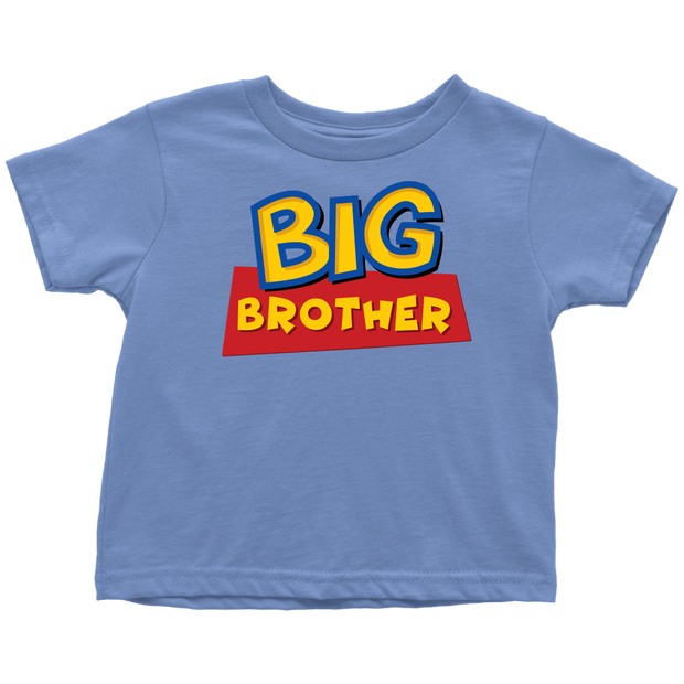 Big Brother Toy Story Inspired Toddler Shirt