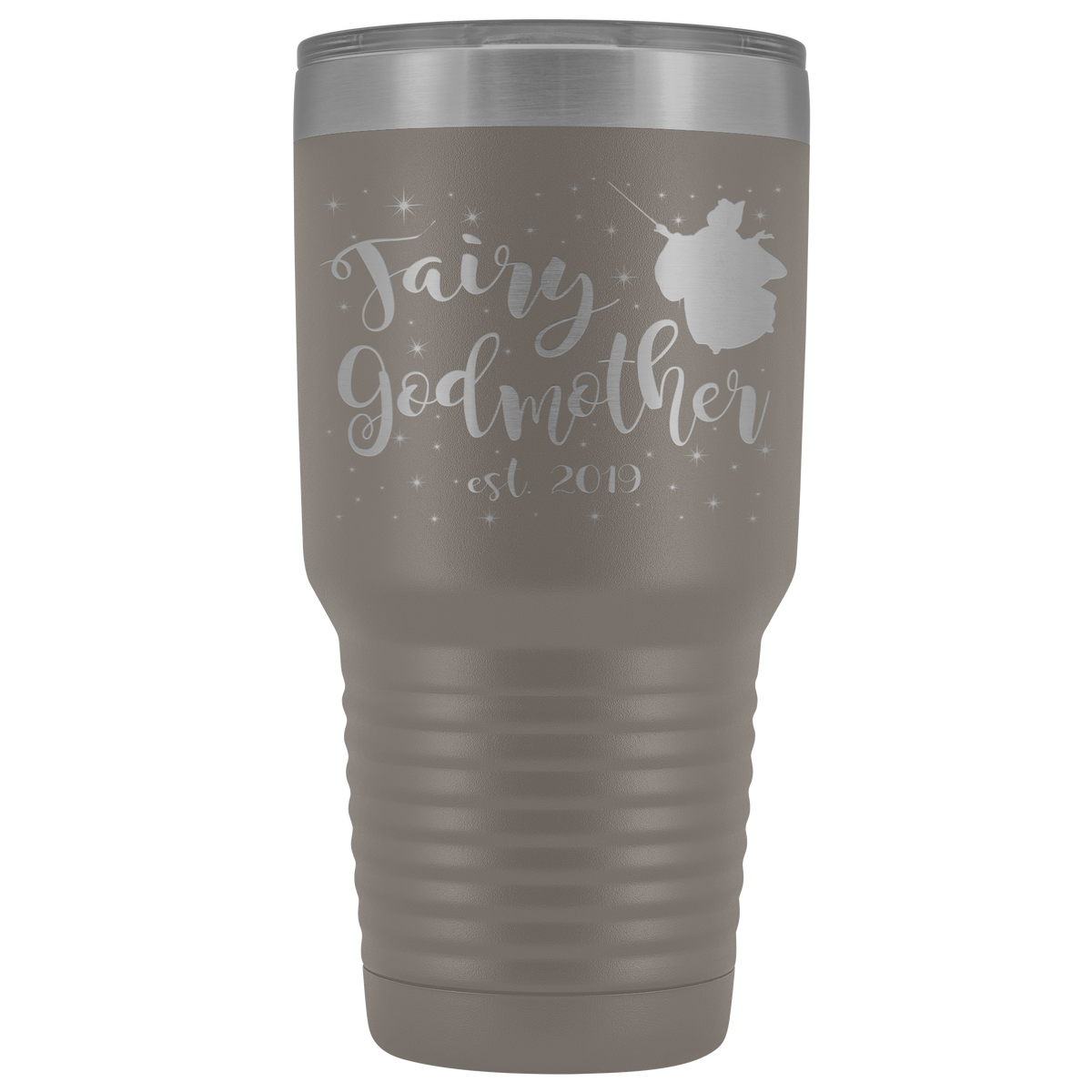 Fairy Godmother 30 Ounce Vacuum Tumbler - Est 2019