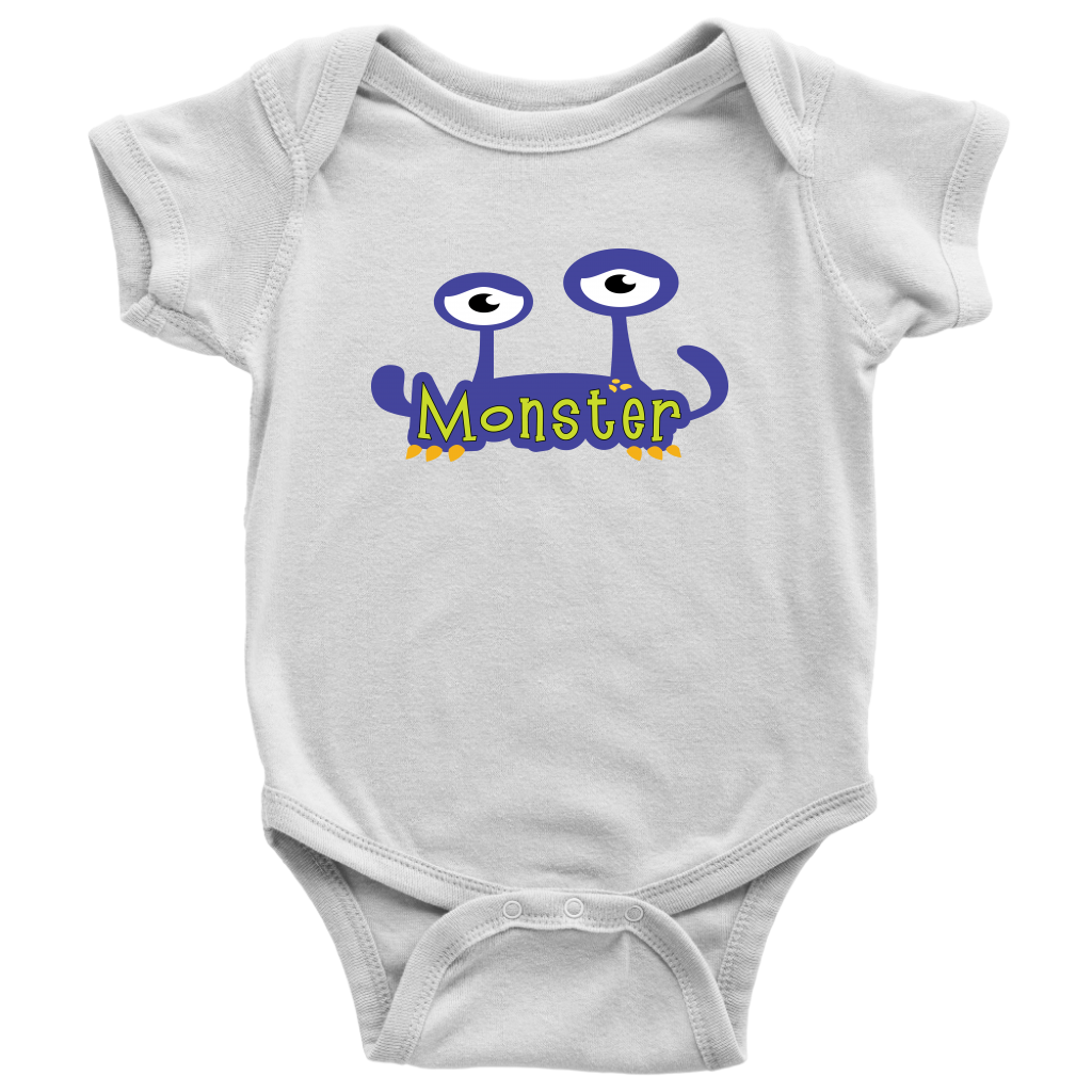 Monster - Matching Baby Onesie with Mom