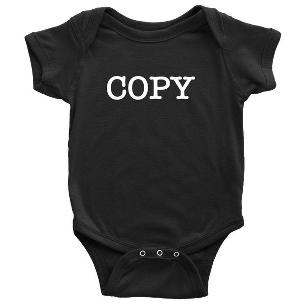 Copy - Fun Twins Onesie - Black