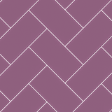 Magenta - 3x6 herringbone assembly