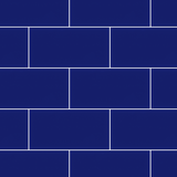 Royal Blue - 3x6 running bond assembly