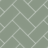 Sage - 3x6 herringbone assembly