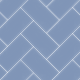 Soft Blue - 3x6 herringbone assembly