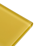 Banana - yellow subway glass tile