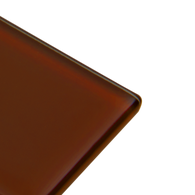 Chestnut - brown subway glass tile