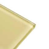 Ivory - yellow subway glass tile