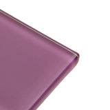 Magenta - purple, pink subway glass tile