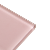 Shell - pink subway glass tile