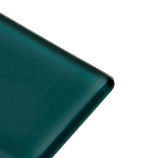 Teal - green, blue subway glass tile