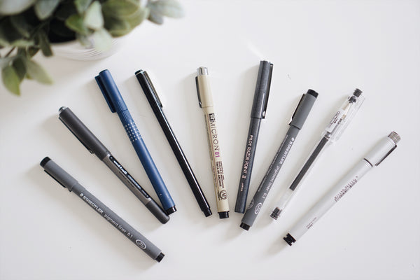 Best Pens + Adhesives for Journaling, pens