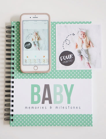 Document Baby's First Year, baby book