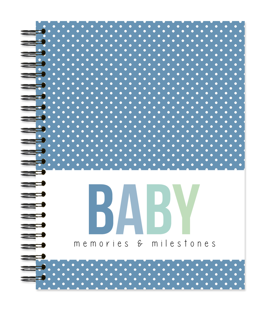 Baby: Classic Dots - Sea Glass