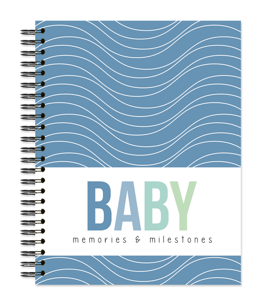 Baby: Waves - Sea Glass