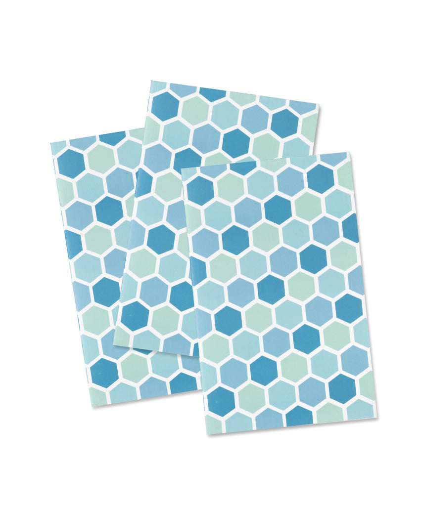Pocket Notebook: Sea Glass - Honeycomb