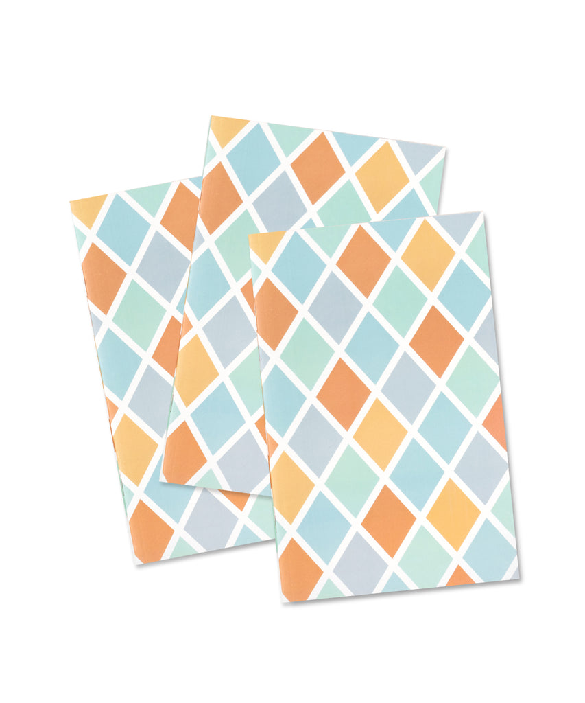 Pocket Notebook: Sherbet - Argyle