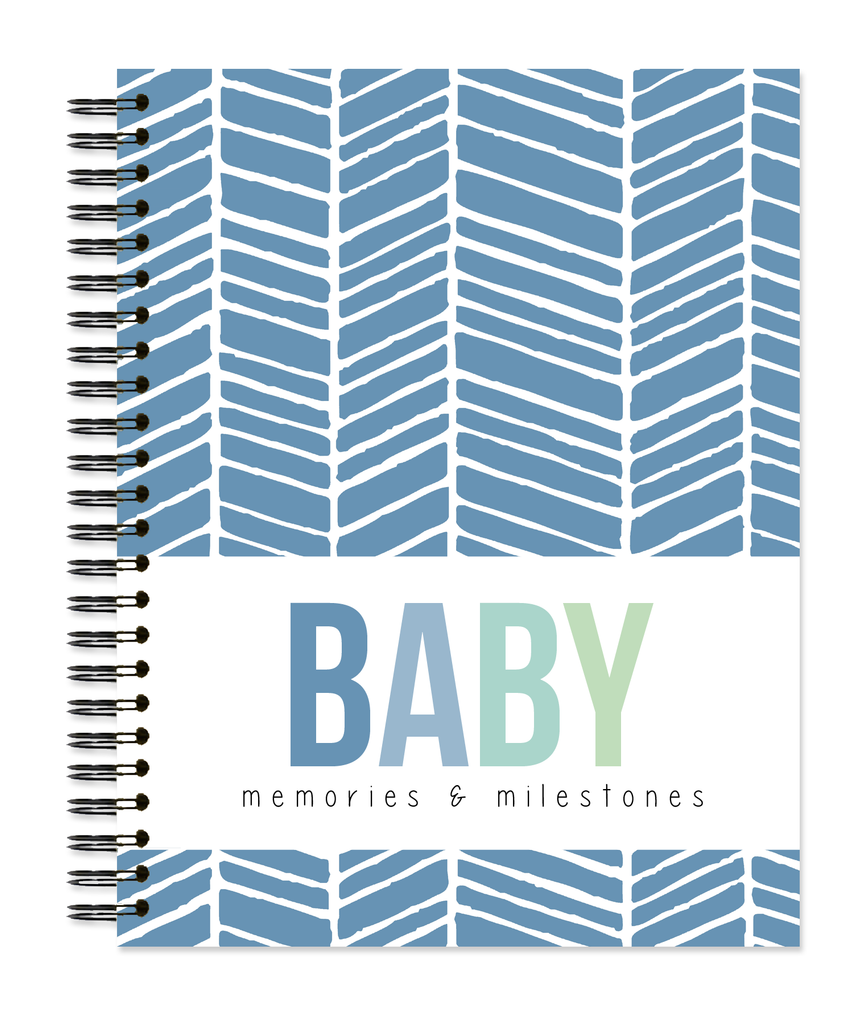 Baby: Herringbone - Sea Glass