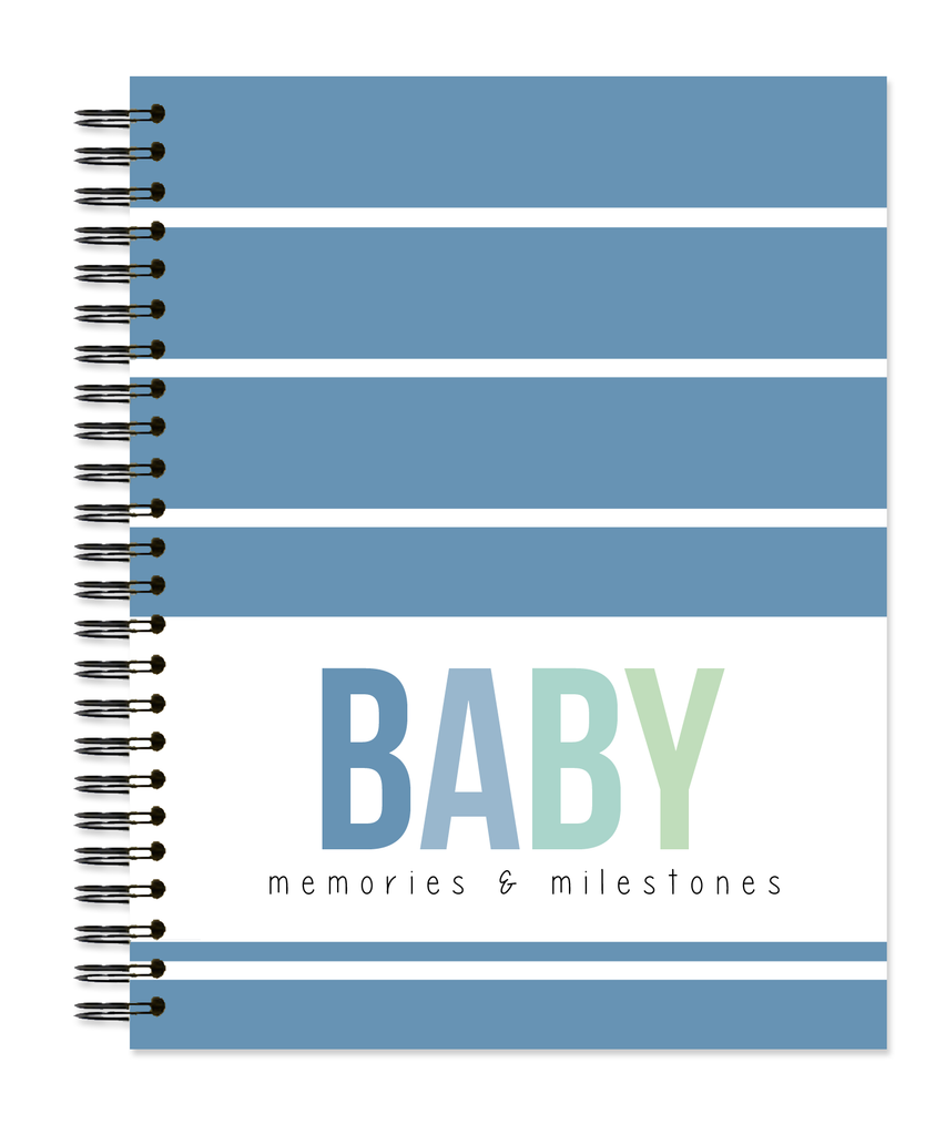 Baby: Wide Stripe - Sea Glass