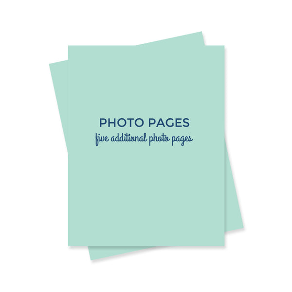 Extra Photo Pages