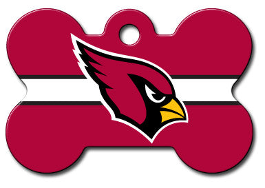 NFL Arizona Cardinals Bone Pet Tag