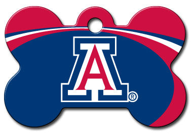 NCAA Arizona Wildcats Bone Pet Tag