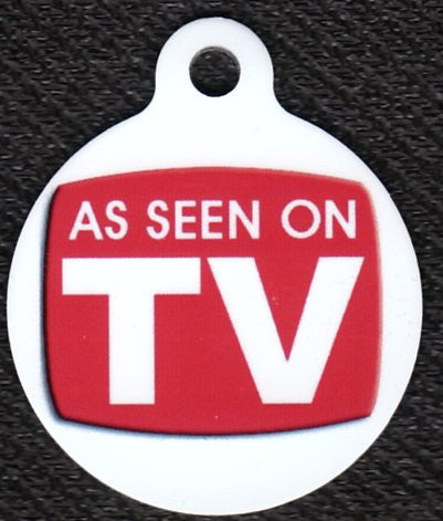 Round As Seen On TV Pet Tag