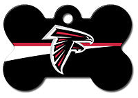 NFL Atlanta Falcons Bone Pet Tag