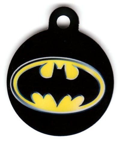 Round Batman DC Comics Pet Tag