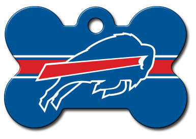NFL Buffalo Bills Bone Pet Tag