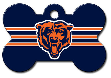 NFL Chicago Bears Bone Pet Tag