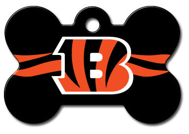 NFL Cincinnati Bengals Bone Pet Tag
