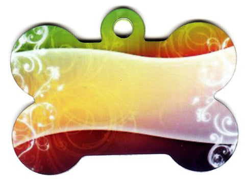 Color Shoosw Bone Pet Tag