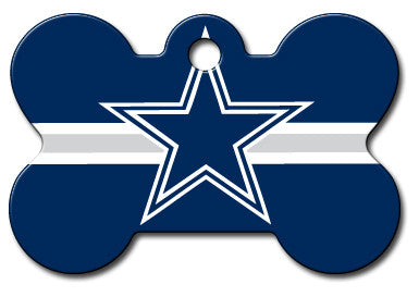 NFL Dallas Cowboys Bone Pet Tag
