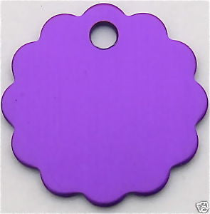 Anodized Cloud Pet ID Tag 8 Colors