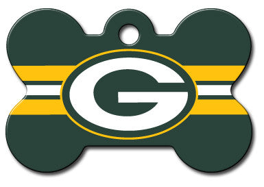 NFL Green Bay Packers Bone Pet Tag
