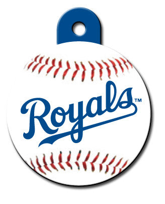 Round MLB Kansas City Royals Pet Tag