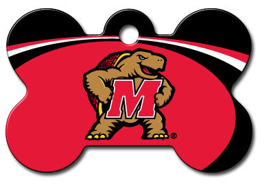 NCAA Maryland Terrapins Pet Tag