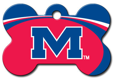 NCAA Mississippi Ole Miss Rebels Pet Tag