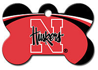 NCAA Nebraska Cornhuskers Pet Tag