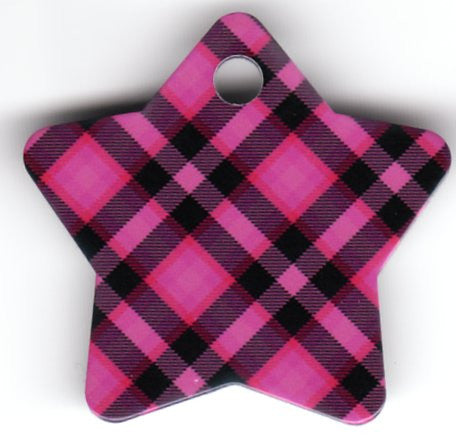 Star Pink Plaid
