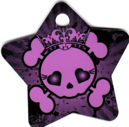 Star Purple Princess Skull