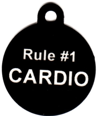 How To Survive Zombie Land Rule #1 Cardio Pet Tag