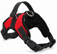 Large Dog Harness Vest Comfortable Nylon Net Cloth New Pet Products 4 Colors Professional Dog Chest Straps S-XXL