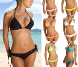 Summer Women Bikini Bandage Sexy Bikini Set Padded Bra Swimsuit Push Up Bathing Suit Swimwear Beachwear Clothing Bikinis-Dollar Bargains Online Shopping Australia