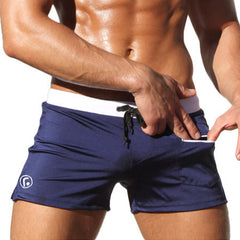 Surf Man Swimming Trunks Male Sexy Gay Men Swimwear Men Swimsuit Swim Trunks Bathing Board Beach Swim Shorts Sunga Bikini-Dollar Bargains Online Shopping Australia