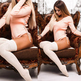 bodysuit women skinny bandage jumpsuit sexy fashion romper playsuit overall PINK RED BLACK 946-Dollar Bargains Online Shopping Australia