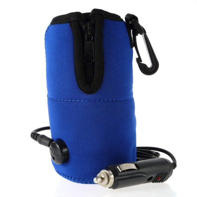 12V Portable DC Car Baby Bottle Warmer Heater Cover Portable Food Milk Travel Cup Covers 100% New-Dollar Bargains Online Shopping Australia