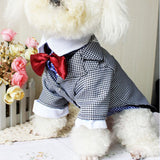 est Dog Clothes Winter Western Style Male Wedding Dog Suit & Bow Tie Puppy for Pet-Dollar Bargains Online Shopping Australia